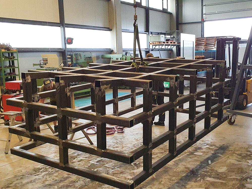 Stahlbandagen im Behälterbau